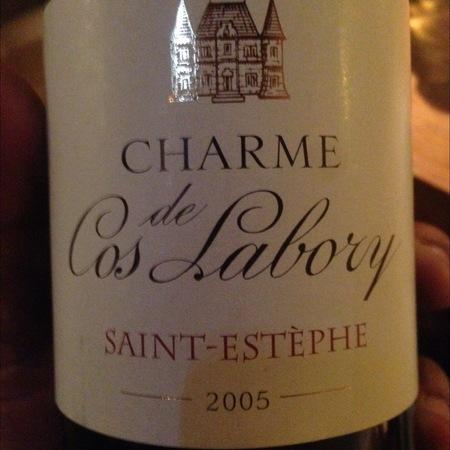 Château Cos Labory St. Estèphe Red Bordeaux Blend 2005