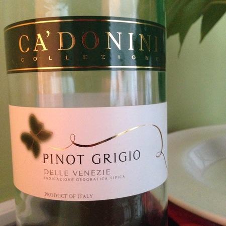 Ca' Donini Delle Venezie Pinot Grigio 2015