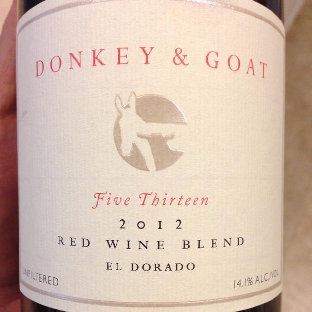 Five Thirteen El Dorado Red Rhone Blend 2012