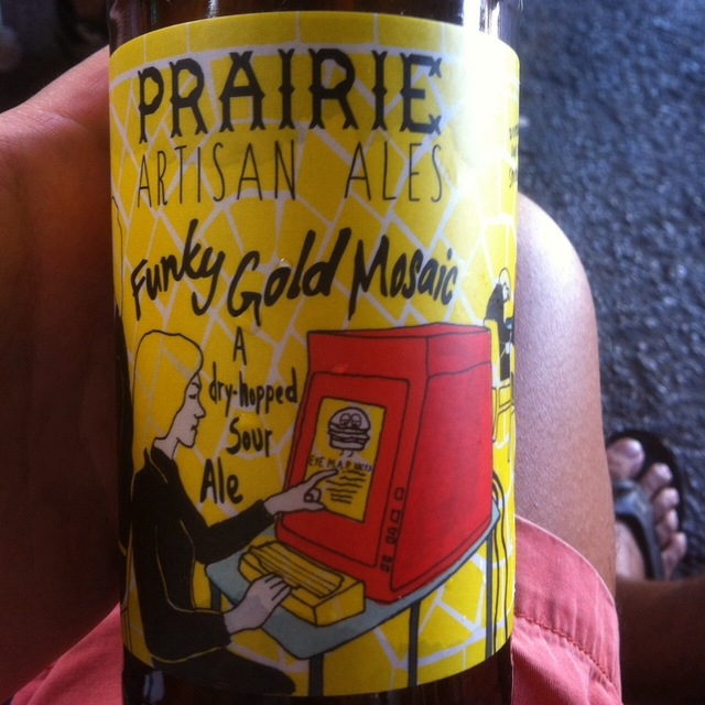 Funky Gold Mosaic Sour Ale NV