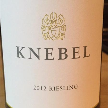 Weingut Knebel Riesling 2015