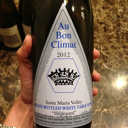 Au Bon Climat Estate Bottled Hildegard White Blend 2012