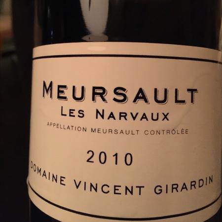 Vincent Girardin Les Narvaux Meursault Chardonnay 2013