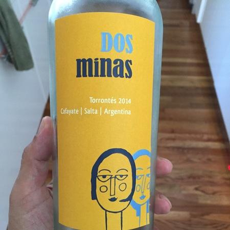 Dos Minas Torrontés 2014