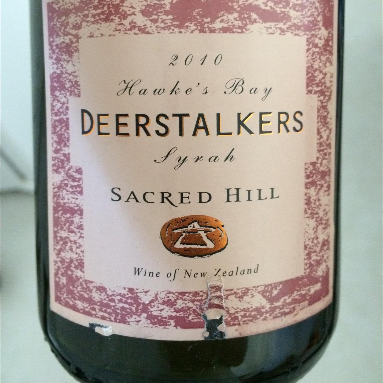 Sacred Hill Deerstalkers Syrah