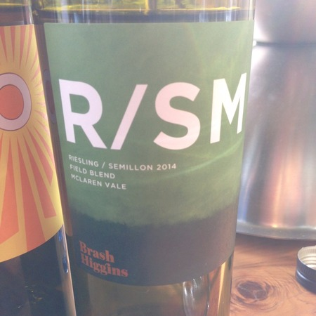 Brash Higgins R/SM Field Blend Riesling Sémillon NV