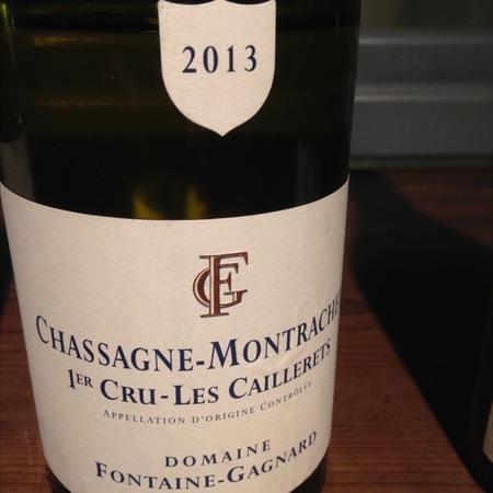 Domaine Fontaine-Gagnard Les Caillerets Chassagne-Montrachet 1er Cru Chardonnay 2013