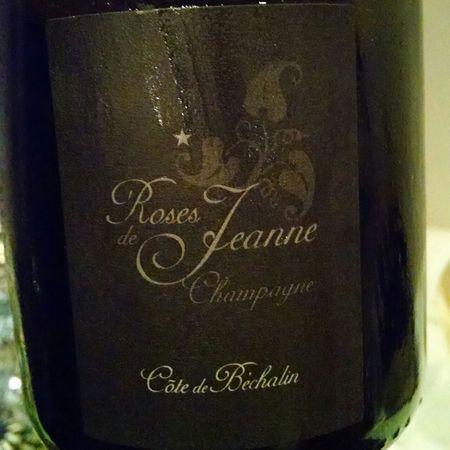 Cédric Bouchard Roses de Jeanne Côte de Béchalin Brut Blanc de Noirs Champagne  Pinot Noir 2010