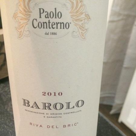 Paolo Conterno Riva del Bric Barolo Nebbiolo 2011