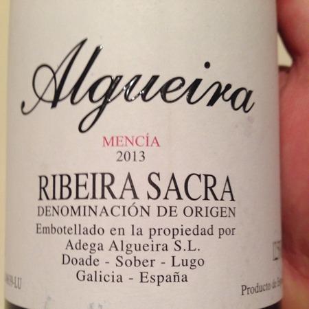 Adega Algueira S.L. Ribeira Sacra Mencía 2016