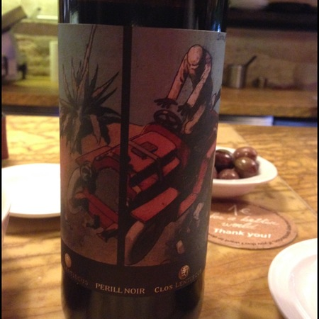 Can Ramon Clos Lentiscus Perill Noir Red Blend 2010