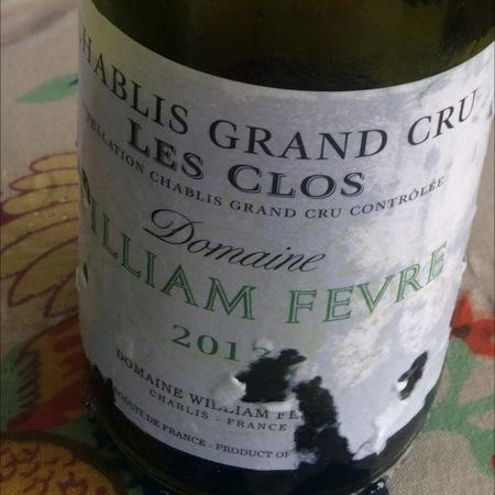 Domaine William Fèvre Les Clos Chablis Grand Cru Chardonnay 2013