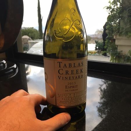 Tablas Creek Vineyard Esprit de Tablas Mourvedre Blend 2013