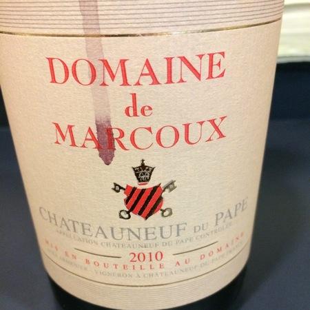 Domaine de Marcoux Châteauneuf-du-Pape Red Rhône Blend 2015