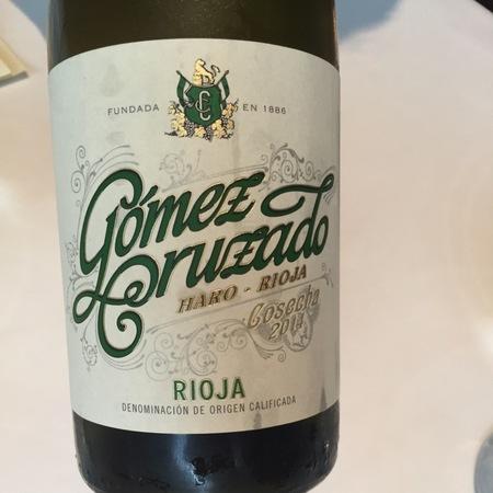 Gomez Cruzado Blanco Haro - Rioja Viura Tempranillo  2014