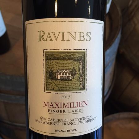 Ravines Wine Cellars Finger Lakes Red Bordeaux Blend 2016