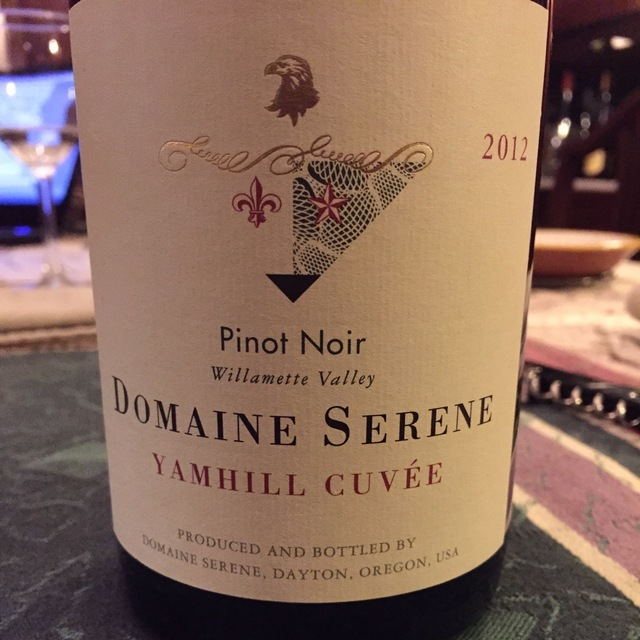 Yamhill Cuvée Willamette Valley Pinot Noir 2012