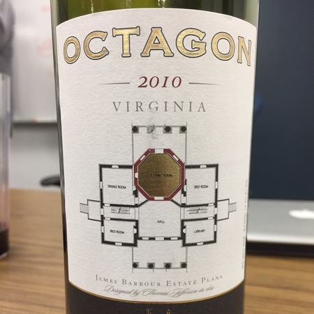 Barboursville Vineyards Octagon Red Bordeaux Blend 2014