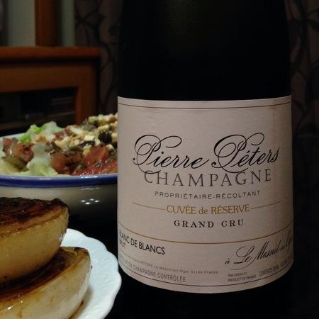 Pierre Péters Cuvée de Réserve Brut Blanc de Blancs Grand Cru Champagne Chardonnay NV