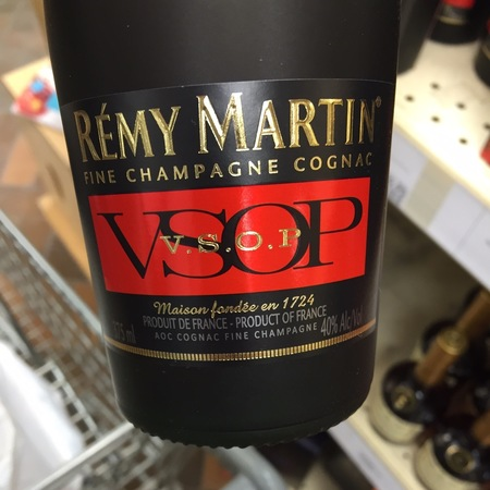 Rémy Martin VSOP Fine Champagne Cognac Ugni Blanc NV