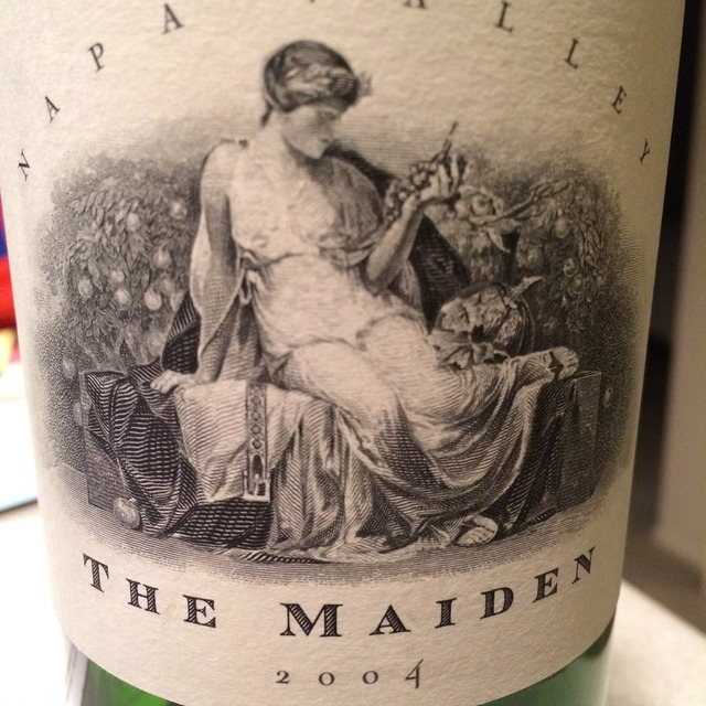 The Maiden Napa Valley Red Bordeaux Blend 2004