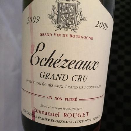 Emmanuel Rouget Echezeaux Grand Cru Pinot Noir 2012