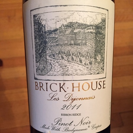 Brick House Les Dijonnais Ribbon Ridge Pinot Noir 2014
