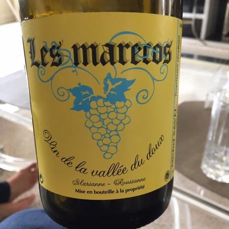 Michel Savel Les Marecos Vin de la Vallée du Doux Marsanne Roussanne 2015