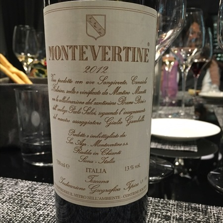 Montevertine Toscana Super Tuscan Blend 2012