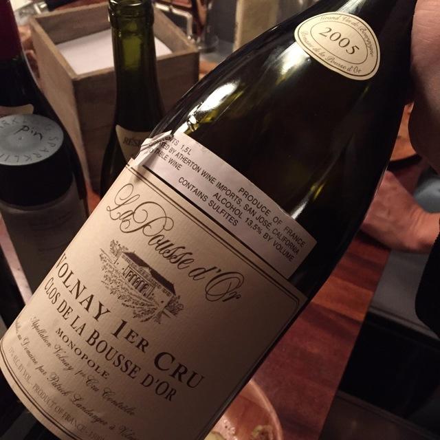 Clos de la Bousse d'Or Volnay 1er Cru Pinot Noir 2005