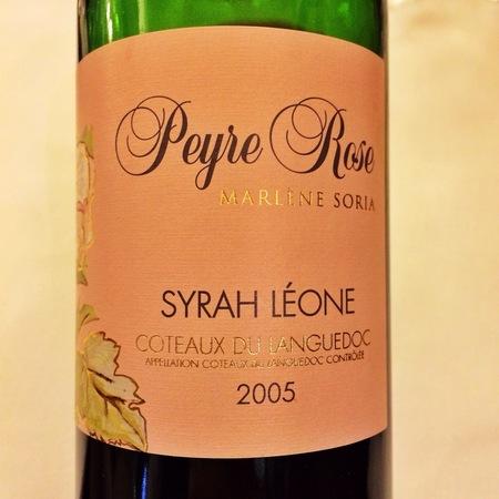 Domaine de Peyre Rose Clos Syrah Leone Coteaux du Languedoc Red Rhone Blend 2005