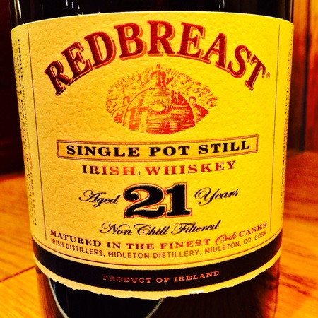 Midleton Redbreast 21 year Single Pot Still Irish Whiskey NV