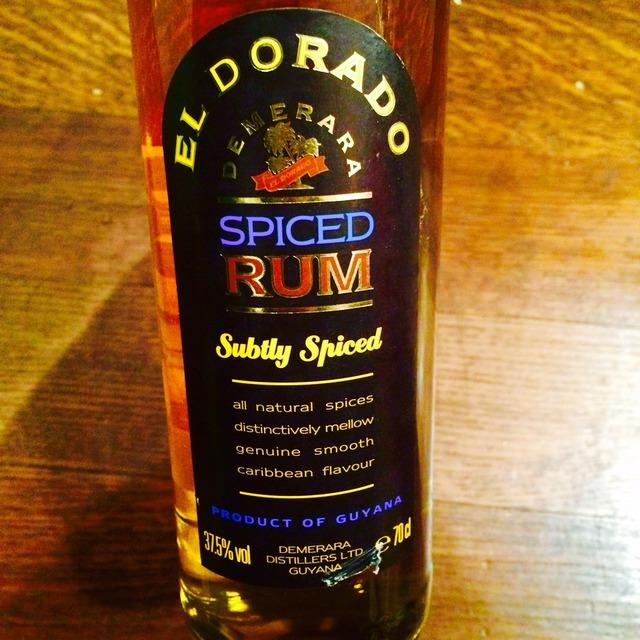 El Dorado Subtly Spiced Rum NV