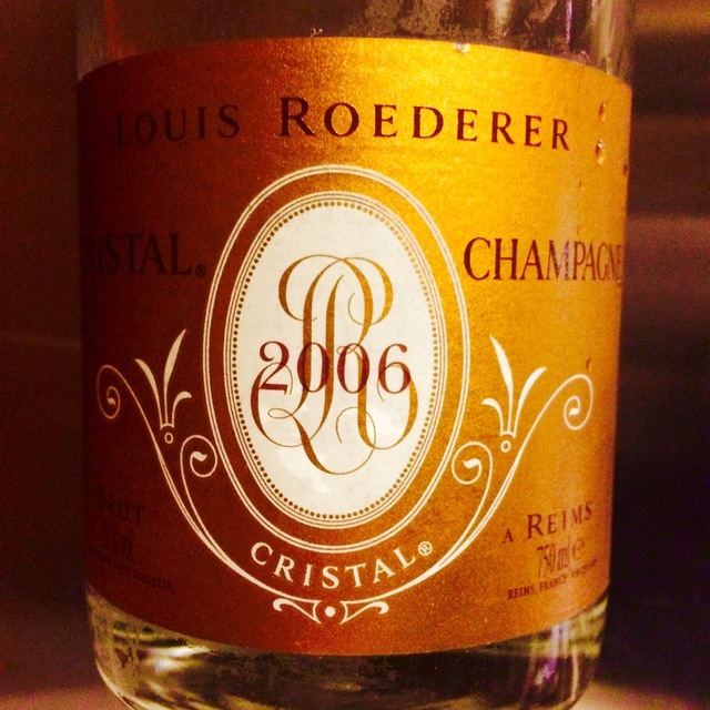 Cristal Brut Champagne Chardonnay Pinot Noir Blend 2006
