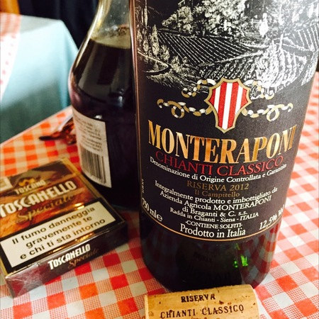Monteraponi Il Campitello Riserva Chianti Classico Sangiovese Blend 2012