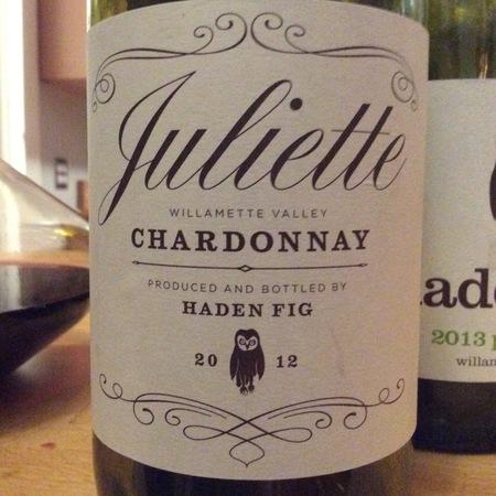 Haden Fig Juliette Chardonnay 2012
