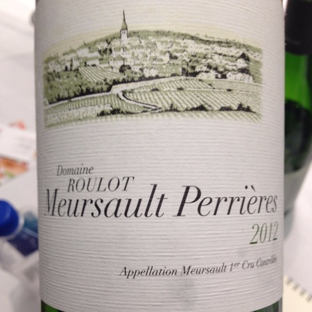 Domaine Roulot Le Porusot Meursault 1er Cru Chardonnay 2012