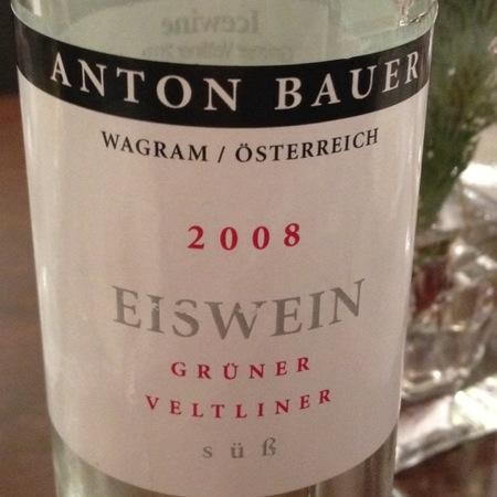 Anton Bauer Süss Grüner Veltliner Eiswein 2013 (375ml)