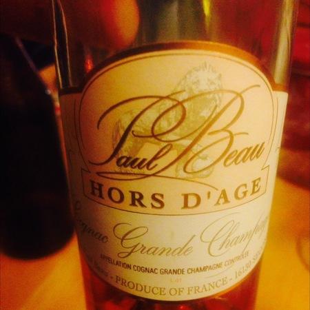 Paul Beau Hors d'Âge Grande Champagne Cognac NV