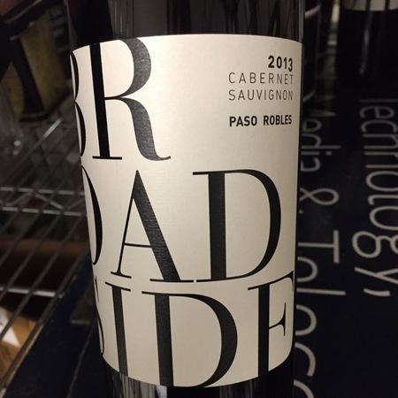 Broadside Paso Robles Cabernet Sauvignon NV
