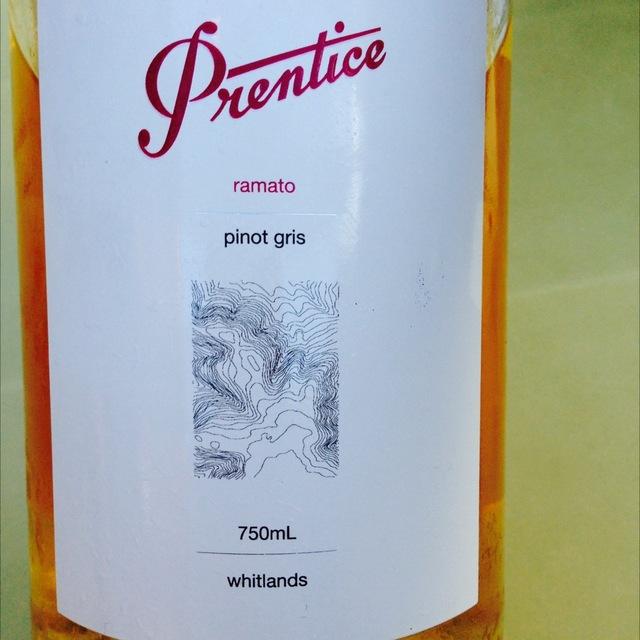 Ramato Whitlands Pinot Gris 2011