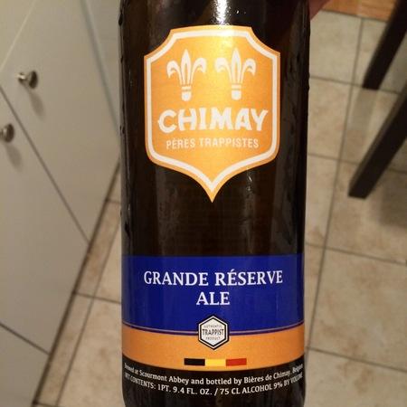 Bieres de Chimay S.A. Grande Réserve Pères Trappistes Belgian Ale