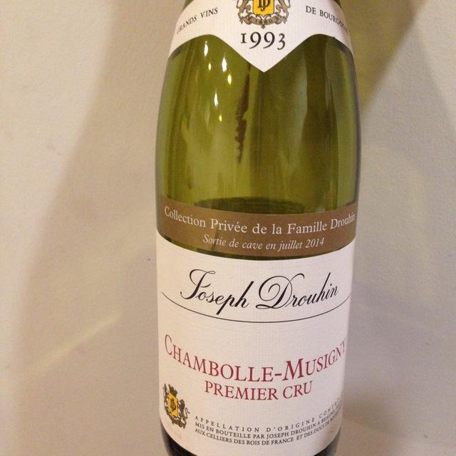 Chambolle-Musigny 1er Cru Pinot Noir 1993
