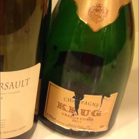 Krug Grande Cuvée Brut Champagne Blend