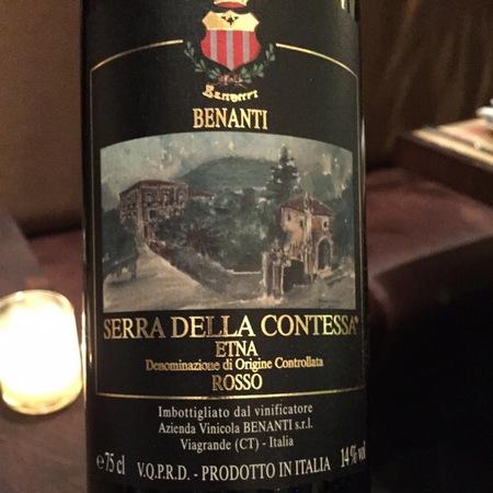 Benanti Serra della Contessa Etna Rosso Nerello Blend 2012