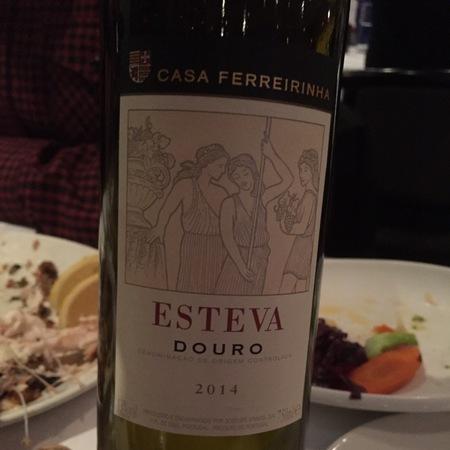 Casa Ferreirinha (Sogrape Vinhos) Esteva Douro Red Blend 2014