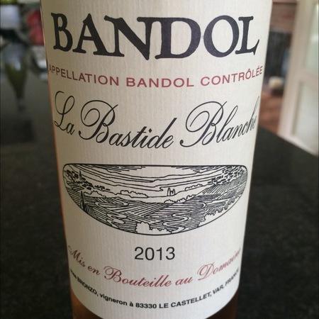 La Bastide Blanche Bandol Mourvedre Blend 2013