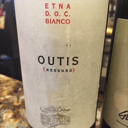 Vini Biondi Outis (Nessuno) Etna DOC Bianco Carricante 2016