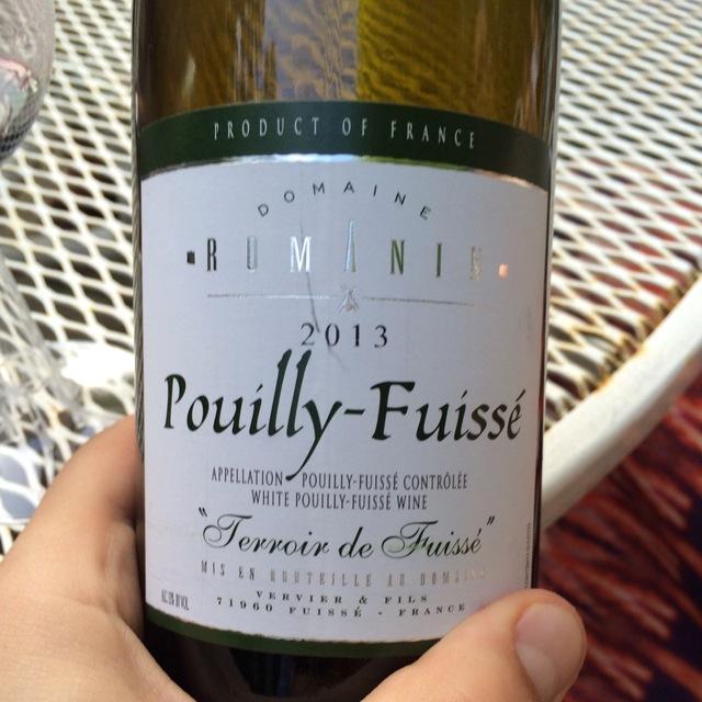 """""""Terroir de Fuissé"""" Pouilly-Fuissé Chardonnay 2013"""