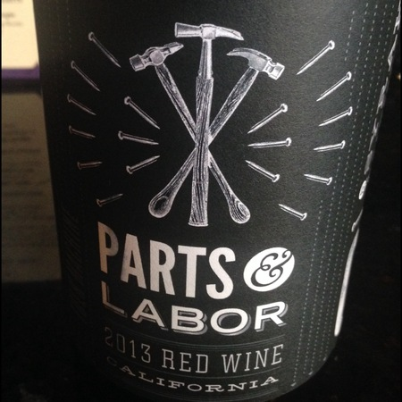 Hobo Wine Company Folk Machine Parts & Labor Red Wine 2015
